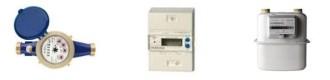 Compteur gaz, compteur électrique, compteur eau, compteur d'énergie